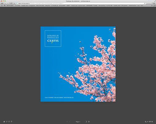 Trabajo realizado para Certis Europe - Diseño y maquetacióno de catálogo de productos.  En este enlace podréis ver el catálogo completo.  http://www.certiseurope.es/fileadmin/catalogo/index.html#catalogo_certis2014/page/1