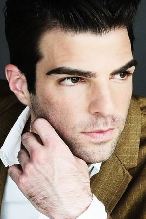 After seeing the very seductive, Zachary Quinto in American Horror Story, Season One, I was hooked. He is so masculine and sexy!