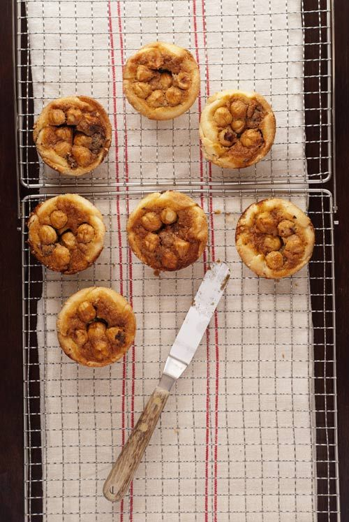 Chocolate Hazelnut Pies