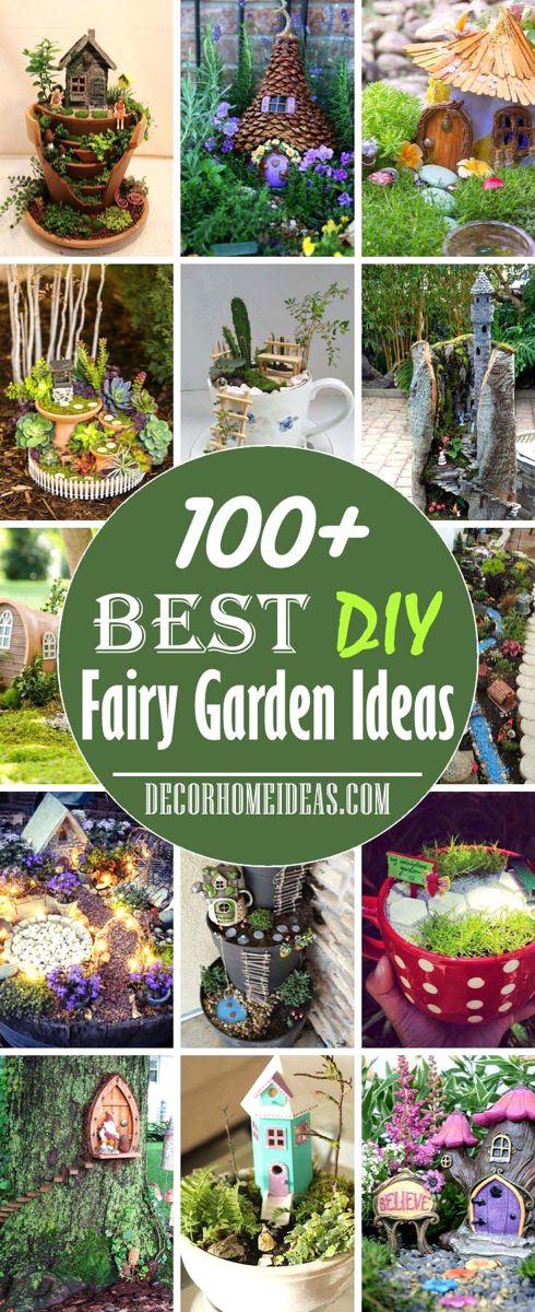 100 Best Diy Fairy Garden Ideas For 2021 Decor Home Ideas Fairy Garden Diy Large Fairy Garden Fairy Garden