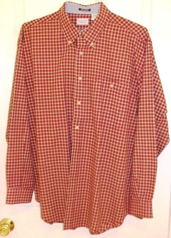 #BugleBoy #rust #beige #black #plaid #shirt #men #large #fashion #garment #clothing #autumn #winter #eBay #shopping