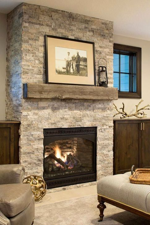 Gorgeous Fireplace Design Ideas For This Winter 16 Rustic