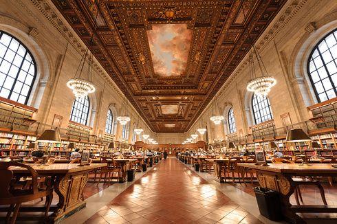 いつか訪れたい海外の美しすぎるおしゃれ図書館20選 公共図書館 ニューヨーク公共図書館 天津市