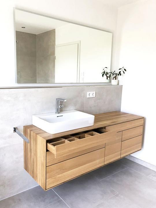 Waschtisch Aus Eiche Massiv Mit Sieben Schubkasten My Blog Aus Blog Eiche Massiv Mit Schubkasten Sieben Wasc In 2020 Bathroom Decor Apartment Solid Oak Vanity