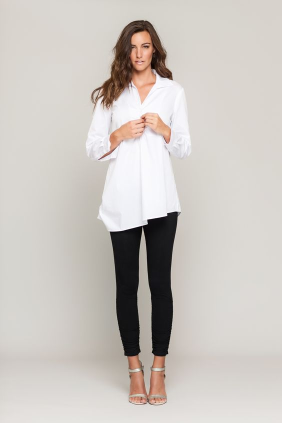 tunic dress with leggings - Google Search