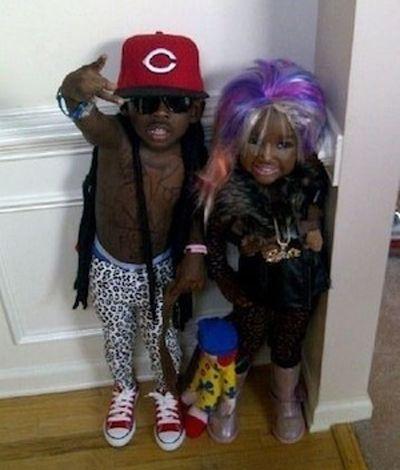 Lil' Lil' Wayne & Mini Minaj