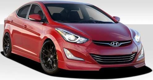 14 Hyundai Elantra Sport Front Lip Autos Deportivos Autos Deportes