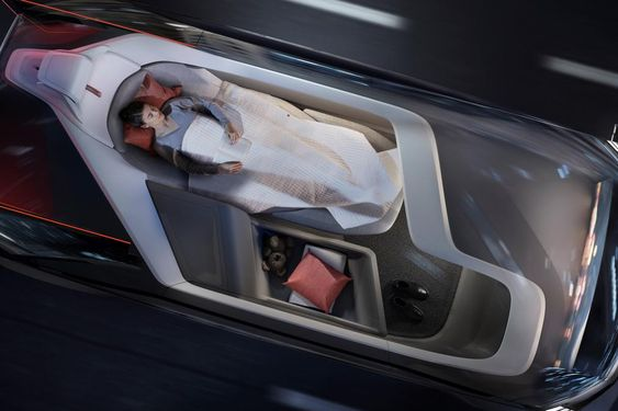 Volvo 360c concept - sleeping