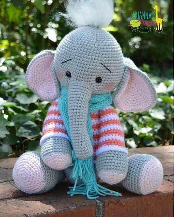 Elefante – Bichinhos e Naninhas – LovelyCraft | 704x564