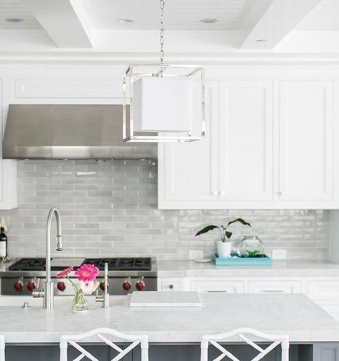 Kitchen Design Home Decoration In 2020 Gray Kitchen Backsplash Light Grey Kitchens Backsplash For White Cabinets