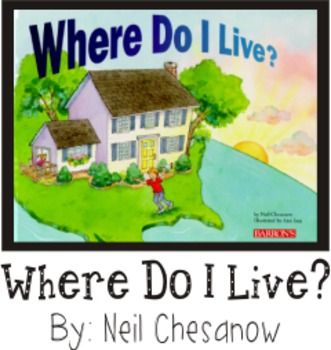 Where Do I Live Geography Reading Writing Visual Art Book Making Where Do I Live Social Studies Education Social Studies Maps The town,city, suburbs and country section could have been done a bit better, but a quick explanation to illustrate the child's. geography reading writing visual art