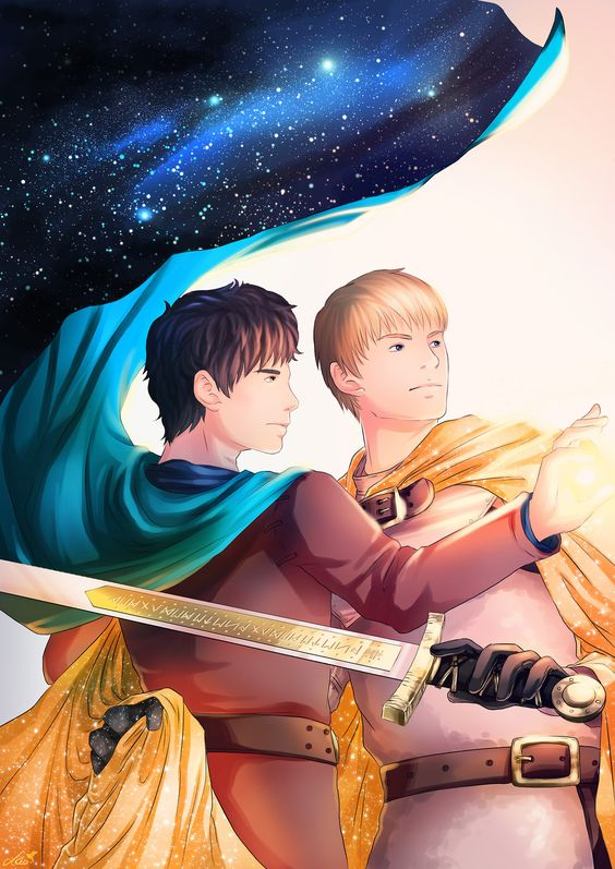 Momotastic27 Artwork By Lao Paperman For My Fanfiction A Prince S Tale A Fairy Tale About A King Who S Lost His Mind To Grief A Prin Merthur Tales Fan Art