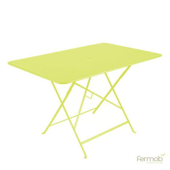 Fermob Bistro Folding Table 46 X 30 Table Metal Folding Table