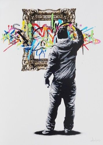 Framed  by Martin Whatson - 13 color screen Print on 300 GSM Somerset paper  Production year: 2013