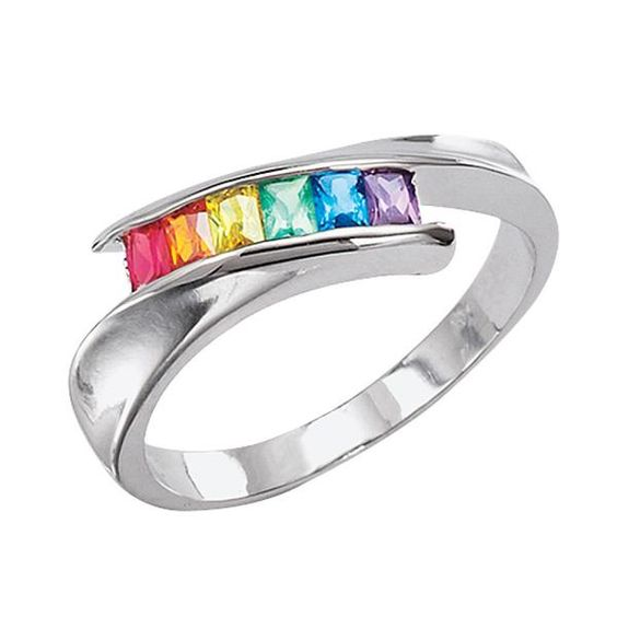 I found 'Rainbow Crystal Ring                               - New Age & Spiritual Gifts at Pyramid Collection' on Wish, check it out!
