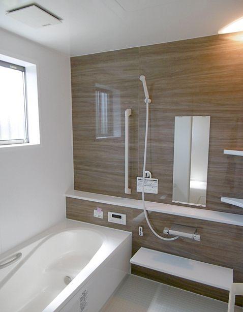 Lixil アライズ ウォールナット フラットカウンター 浴室 デザイン