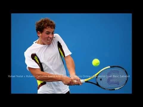Roberto Carballes Baena Vs Rafael Nadal Atp Barcelona Results Barcelon Tennis Scores Tennis