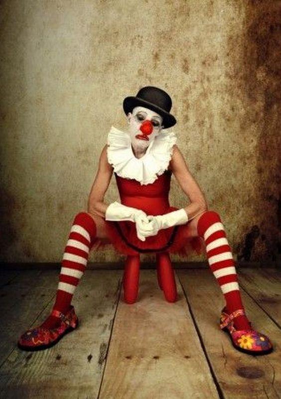 Vintage clown makeup ideas 47