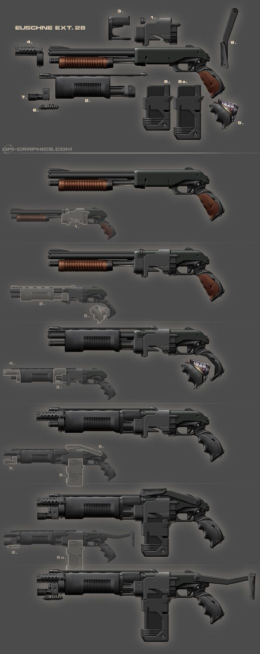 Weapons, Guns and Weapon concept art on Pinterest