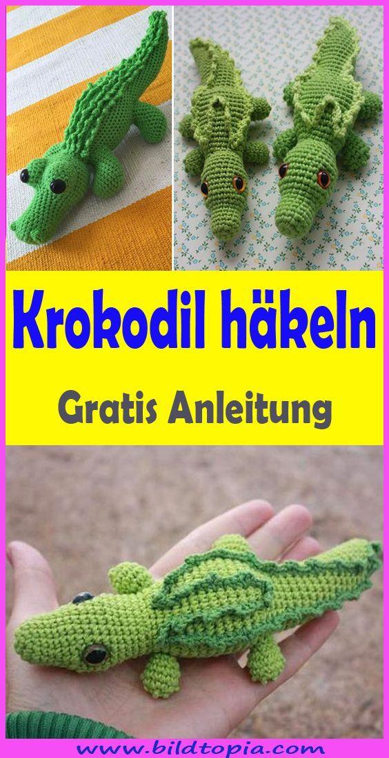 Hakeln Sie Amigurumi Crocodile Free Easy Instructions In 2020 Krokodil Hakeln Tier Hakeln Anleitung Amigurumi
