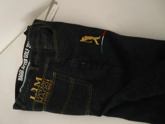 100% cotton jeans man 14 oncia.con gold embroidery size: TG44-SZ30, SZ32-TG46, TG48-SZ34, SZ36-TG50, TG52-SZ38, SZ40-TG54, TG56-SZ42, SZ44-TG58, TG60-SZ46