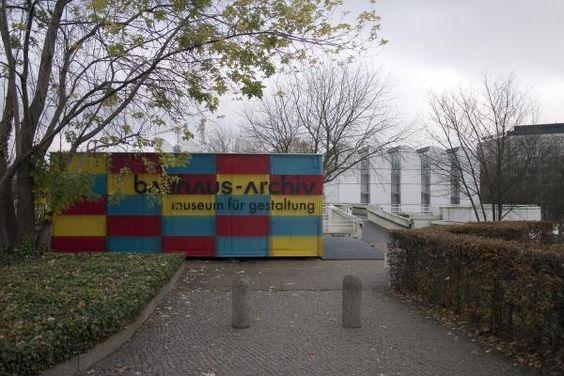 Bauhaus museum, Weimar, Alemania