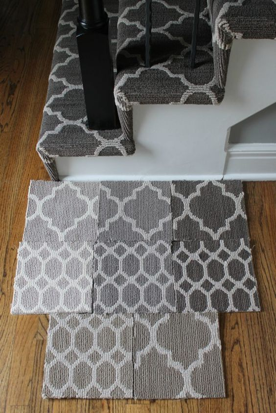 Best Patterned Stair Carpet Shaw Carpet Carpets And Stairs 400 x 300