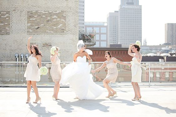 Rooftop Fun! | A'BULAE Wedding with Erin & Eric | Photography by Kate Botwinski Photography