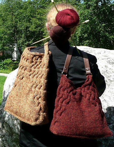 Convergence Bag Pattern - Knitting Patterns and Crochet Patterns from KnitPicks.com