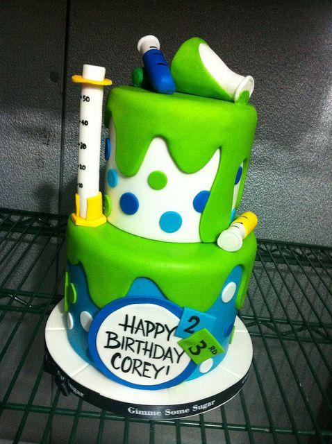 Chemistry Cake By Jchancebakes Via Flickr Science Party
