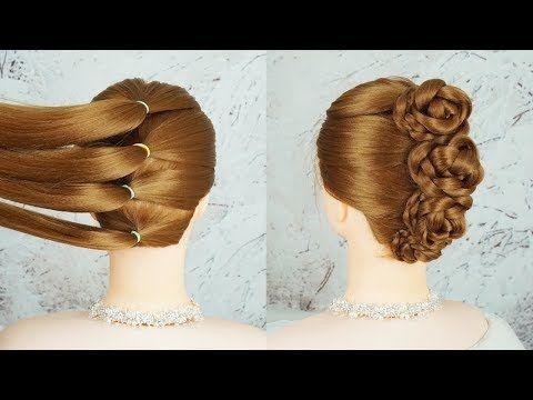 French Braid Bun Hairstyles 5 Minute Crafts Hairstyles French Braid Lace Braid Homec French Braid Buns Braided Bun Hairstyles Easy Wedding Guest Hairstyles