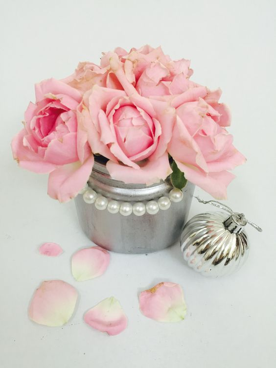 DIY Nutella Jar in Silver Metallic Finish. Super easy to do and looks gorgeous