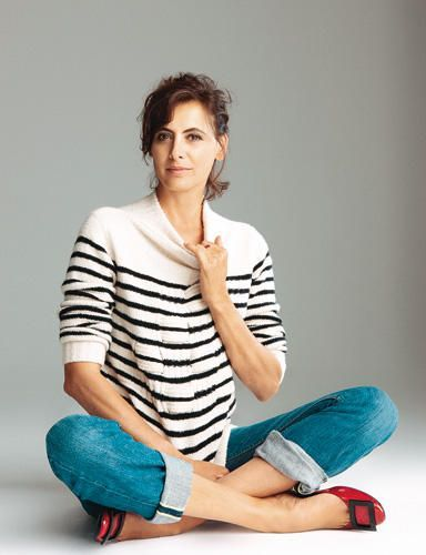 Ines de la Fressange knows how to age gracefully - Pinterest