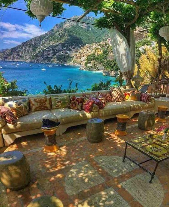 Villa Treville, Positano Italy: