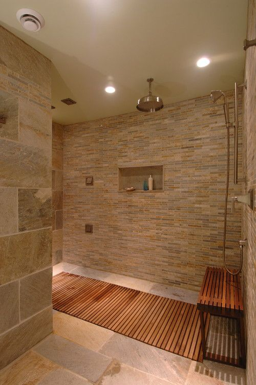 Bathroom Shower Designs Without Doors