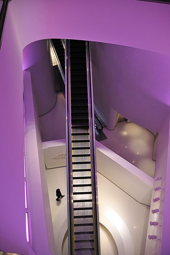 Burj Khalifa Interior Purple From The Movie Mission Impossible Ghost Pro
