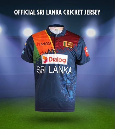 Official Sri Lanka Cricket T Shirt Jersey 2020 Original From Mas Free Post In 2020 Cricket T Shirt Sri Lanka Cricket Team Jersey