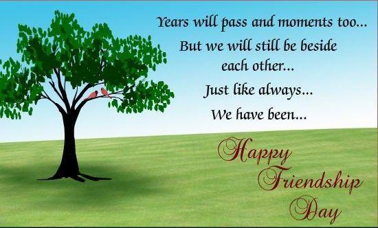 60 Happy Friendship Day Tree Nature Whatsapp Status