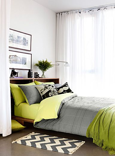 Duvet on pinterest for Housse couette simons