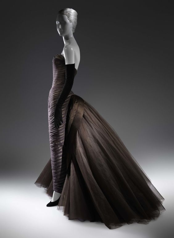 """""""Butterfly"""" by Charles James ca. 1955  From the Metropolitan Museum of Art via the New York Times"""