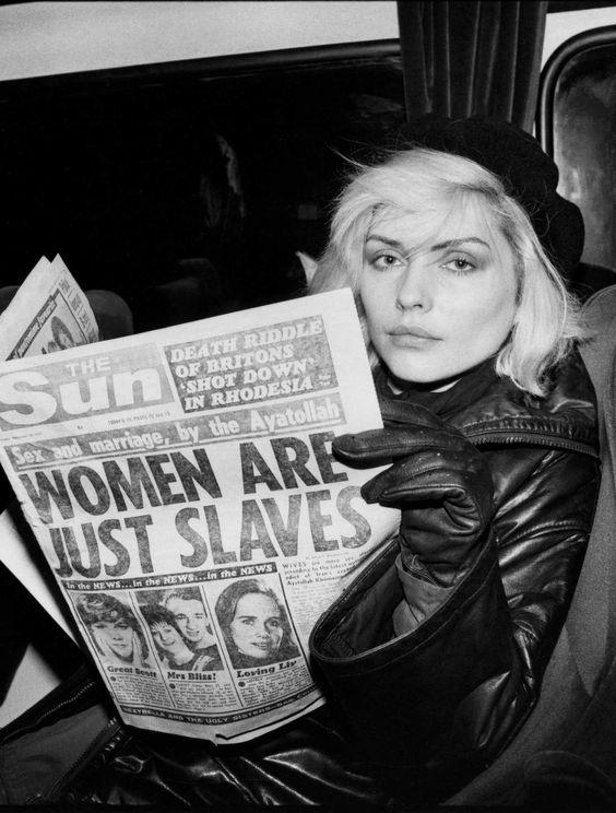 On A Train, Late '70s Photo: Chris Stein