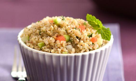 Receitas de saladas para o verão - Culinária - MdeMulher - Ed. Abril#57 (tabule de quinoa)