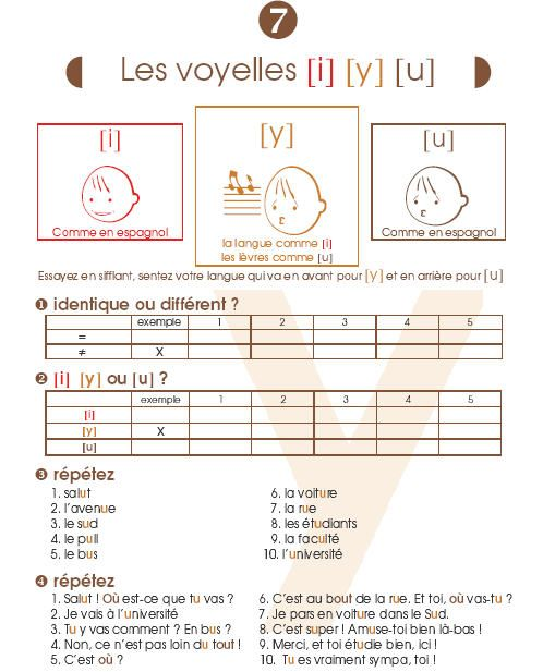 Cahier De Prononciation Francaise Phonetique Fle Exercices C