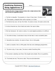 Appositive Phrase Worksheets, Appositives Sentence Activities ...