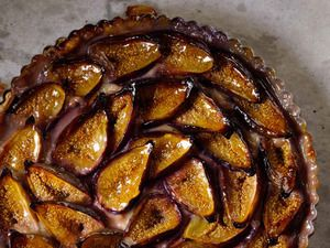 Fig Tart | Serious Eats - Figs are a Mediterranean staple - and they grow very well here in NC.