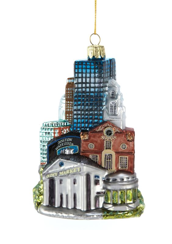 KURT ADLER  Boston Cityscape Ornament