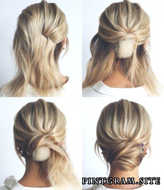 How To Make A Bun Roll Fashion Girl Make Nack Wie Man Ein Nackenbrotchen Macht Fashion Girl Coole Frisuren Hochsteckfrisuren Lange Haare Lange Haare