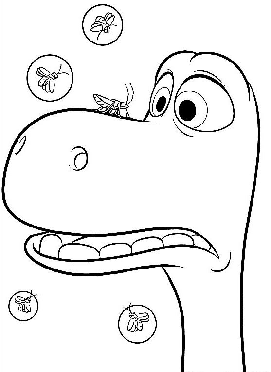 The Good Dinosaur Coloring Pages Best Coloring Pages For Kids Dinosaur Coloring Pages The Good Dinosaur Cool Coloring Pages