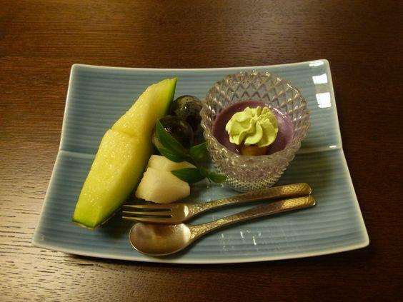 "Cena, Camera di ""Kizuna"" (Hotel), Shuzenji-Onsen (Terme) Shizuoka Japan (Settembre)"