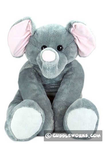 giant elephant stuffed animal grandma derby baby stuff pinterest presents stuffed. Black Bedroom Furniture Sets. Home Design Ideas